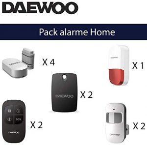alarme maison sans fil avec camera
